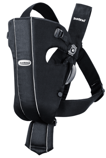Baby Carrier Original Black Cotton - BABYBJÖRN