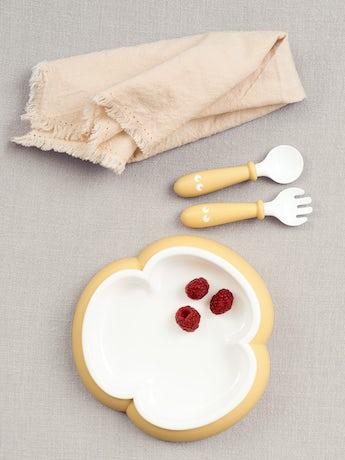 babybjorn-assiette-cuillere-et-fourchette-pour-bebe-2-ensembles-jaune-pastel-003