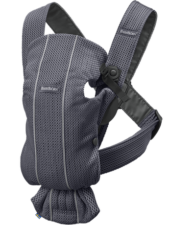 Baby Carrier MIni Anthracite in 3D Mesh - BABYBJÖRN