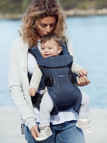 Baby Carrier One Air Navy Blue in 3D Mesh - BABYBJÖRN