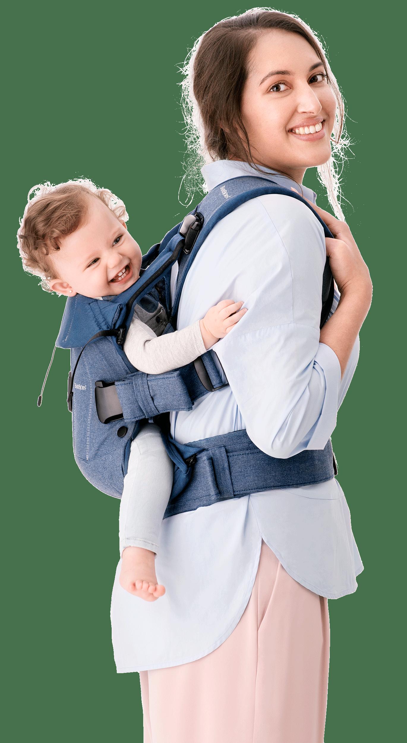 baby bjorn carrier one denim grey