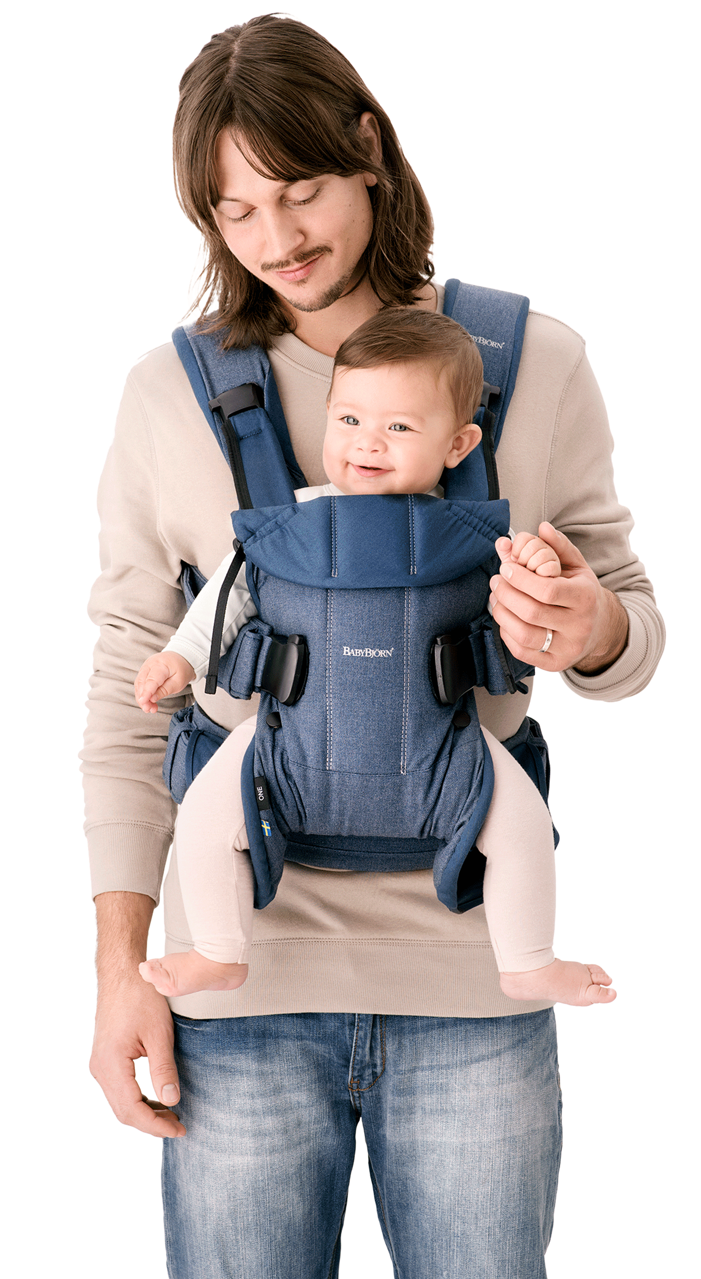 baby bjorn carrying positions