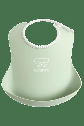babybjorn-bavoir-avec-poche-vert-