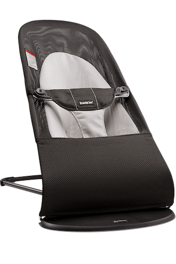 Bouncer Balance Soft Black/Gray Mesh - BABYBJÖRN