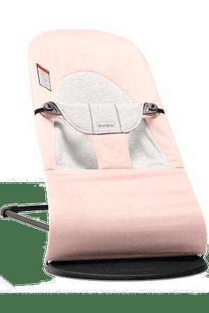 Bouncer Balance Soft Light Pink/Grey - BABYBJORN