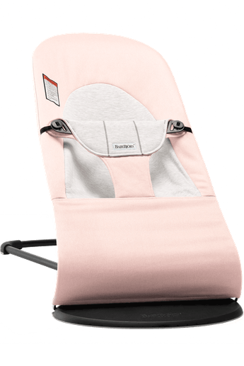 Bouncer Balance Soft Light Pink/Grey - BABYBJORN