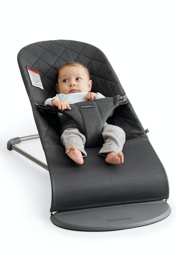 Bouncer Bliss Anthracite in soft Cotton- BABYBJÖRN