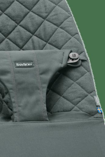 Bouncer Bliss Grayish Green in soft Organic Cotton- BABYBJÖRN
