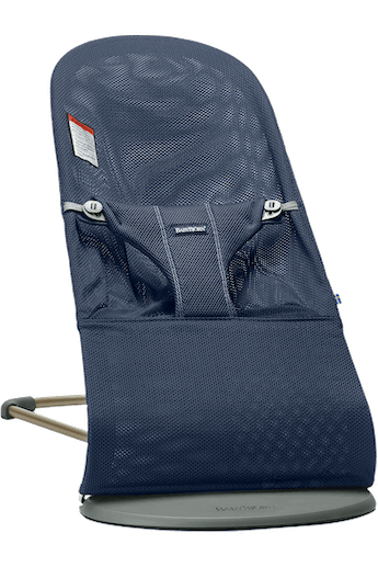 Bouncer Bliss Navy Blue Mesh - BABYBJÖRN