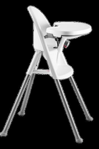 Chaise Haute Blanc/Gris - BABYBJORN