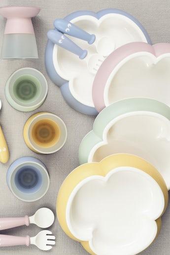 babybjorn-ensemble-repas-bebe-bleu-rose-vert-et-jaune-pastel-001