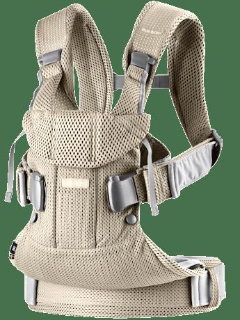 Porte-bébé One Air Grège en Mesh 3D - BABYBJÖRN