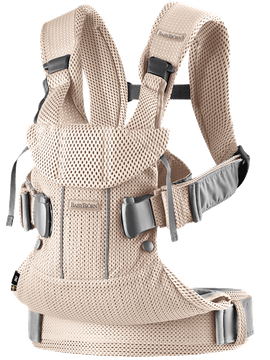 Porte-Bébé One Air Rose Nacré en Mesh 3D - BABYBJÖRN