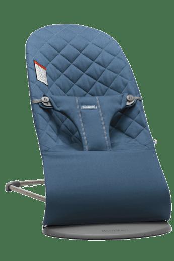 Siège Sauteur Bliss Bleu Nuit en Coton - BABYBJÖRN
