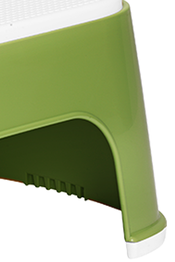 BABYBJÖRN Step Stool in Green