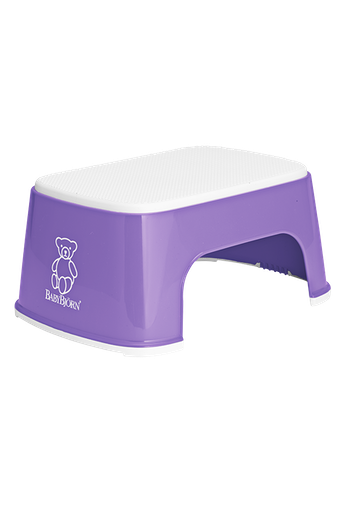 BABYBJÖRN Step Stool in Purple