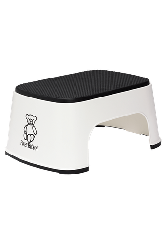 BABYBJÖRN Step Stool in White