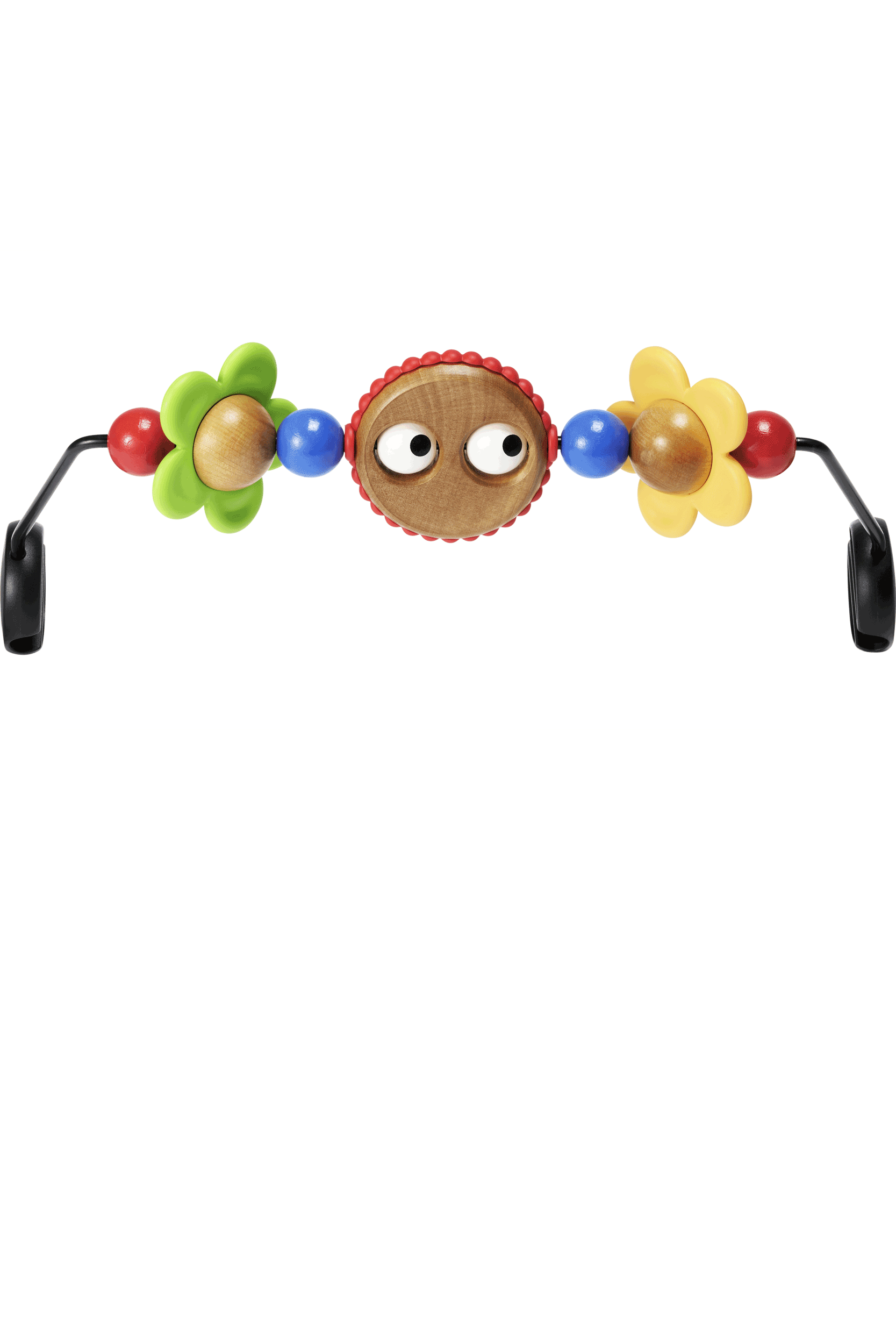 BabyBjorn Baby Bjorn Wooden Toy for Baby Bouncer Free Shipping! Googly Eyes