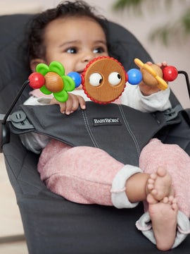 Toy for Bouncer –Googly eyes - BABYBJÖRN