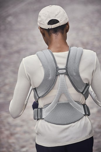 Baby Carrier Move Grey 3D Mesh - BABYBJÖRN