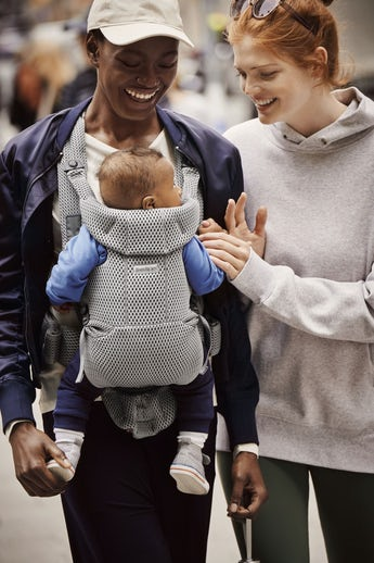Porte-bébé Free Gris 3D Mesh - BABYBJÖRN
