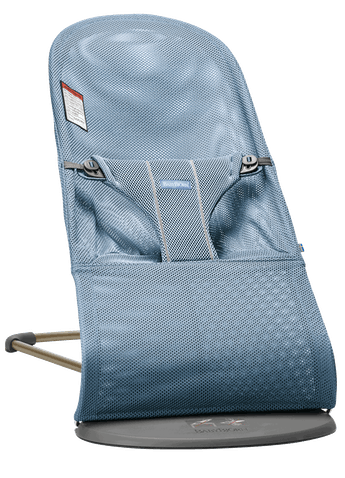 Baby Bouncer Bliss Slate Blue Mesh - BABYBJÖRN