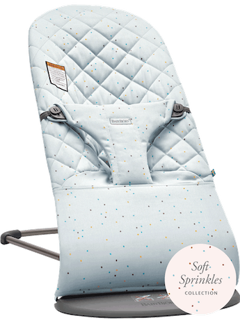 Bouncer Bliss Blue Sprinkles Cotton - BABYBJÖRN
