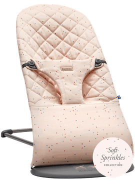 Bouncer Bliss Pink Sprikles Cotton - BABYBJÖRN