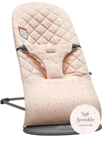 Bouncer Bliss Pink Sprinkles Cotton - BABYBJÖRN