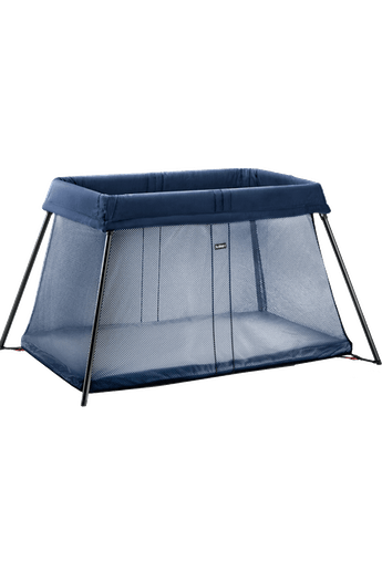 Play Yard Light Dark Blue Mesh - BABYBJÖRN