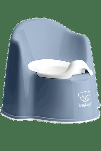 Pot Fauteuil Bleu Profond Blanc - BABYBJÖRN