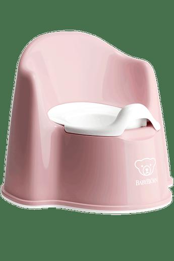 Pot Fauteuil Rose Pastel Blanc - BABYBJÖRN
