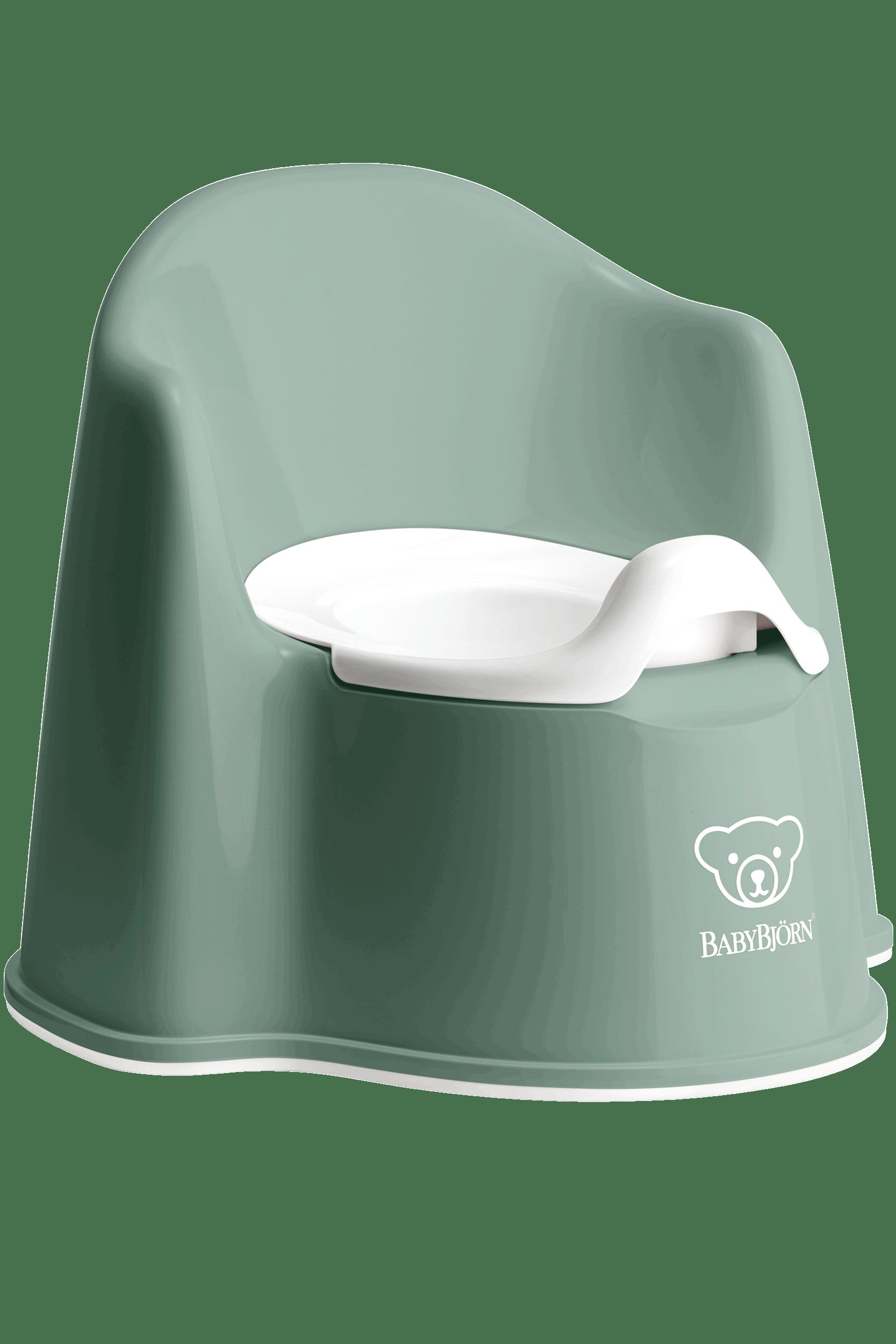 Pot dapprentissage de la propret/é BABYLON Pot Shell pour enfant Blanc