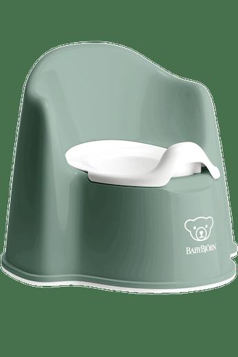 Pot Fauteuil Vert Profond Blanc - BABYBJÖRN