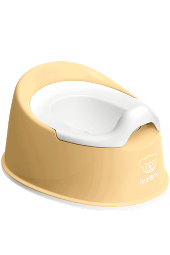 Pot Smart Jaune Pastel/Blanc - BABYBJÖRN