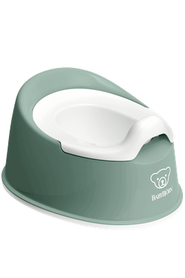 Pot Smart Vert Profond Blanc - BABYBJÖRN