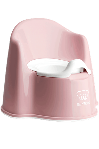 Potty Chair Powder Pink White - BABYBJÖRN
