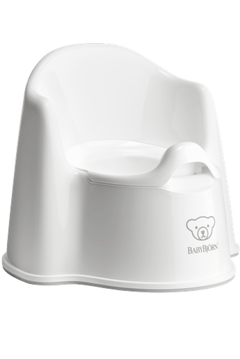 Potty Chair White Gray - BABYBJÖRN