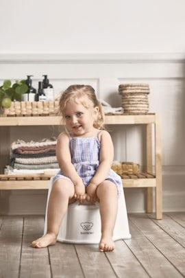 Potty Chair White Gray - BABYBJÖRN