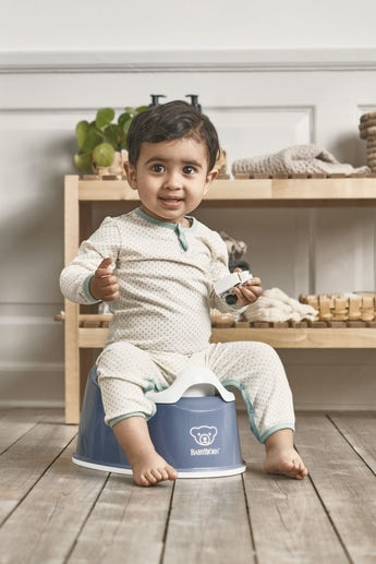 Smart Potty Deep Blue White - BABYBJÖRN