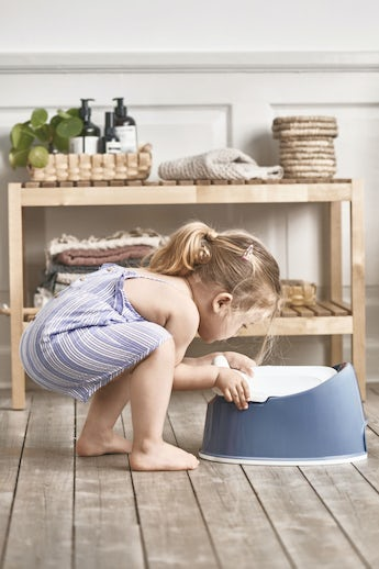 Smart Potty Deep blue/White - BABYBJÖRN