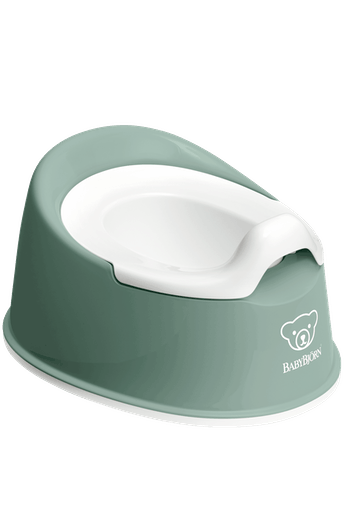 Smart Potty Deep green/White - BABYBJÖRN