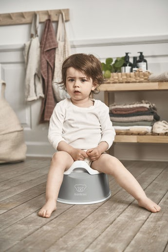 Smart Potty Gray/White - BABYBJÖRN