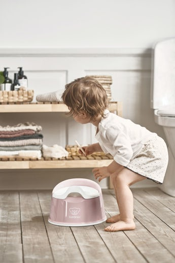 Smart Potty Powder pink/White - BABYBJÖRN