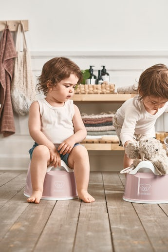 Smart Potty Powder pink/White - BABYBJÖRN