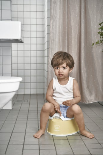 Smart Potty Powder yellow/White - BABYBJÖRN