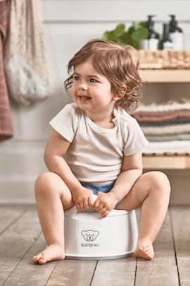Smart Potty White Gray - BABYBJÖRN