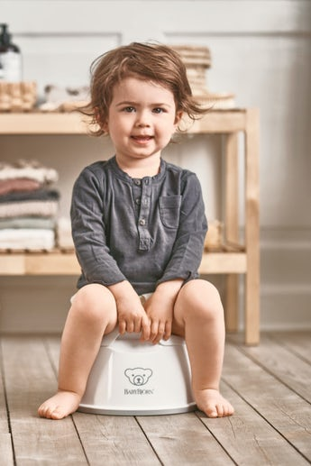 Smart Potty White/Gray - BABYBJÖRN