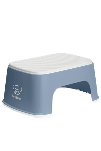 Step Stool Powder Deep blue/White - BABYBJÖRN