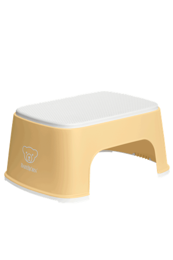 Step Stool Powder Yellow White - BABYBJÖRN